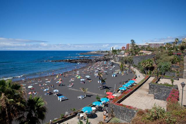 Bild: Teneriffa, Urlaub, Sommerurlaub, Playa Jahrein