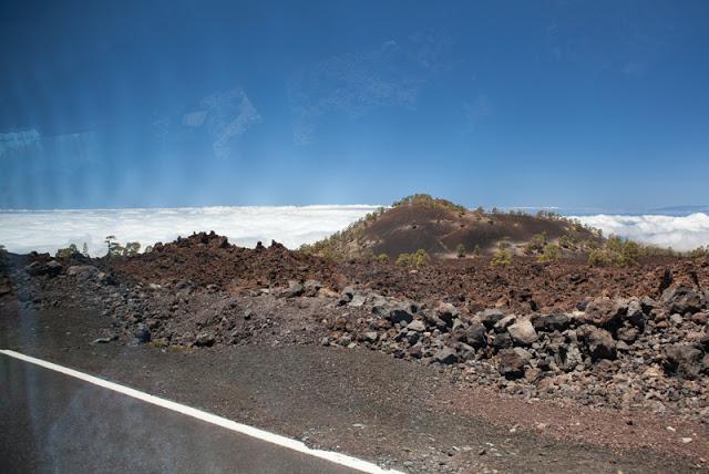Bild Teneriffa, Sommerurlaub, Teide, über den Wolken