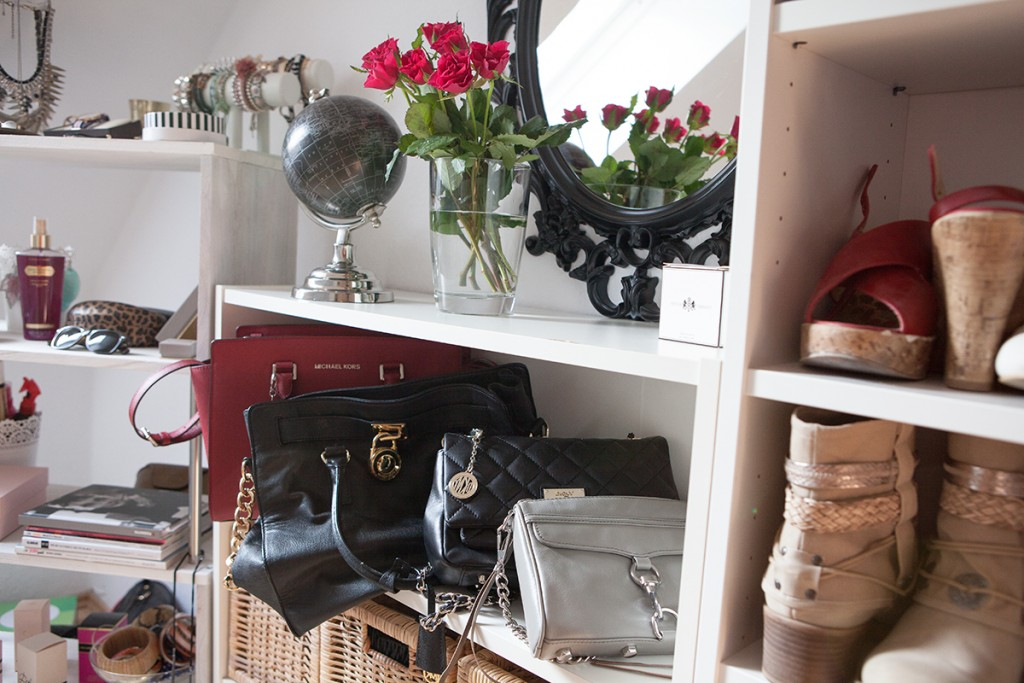 Interieur] home sweet home: my dressing room shades of ivory