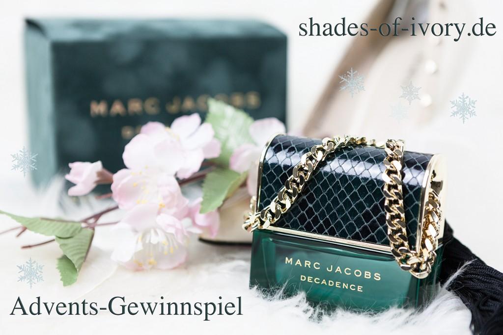 Bild Gewinnspiel Marc Jacobs Decadence, Verlosung, Adventsgewinnspiel, Blogger, Adventskalender